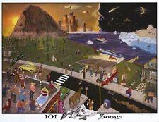 PHISH - 101 SONGS - ART POSTER - 24x30 MUSIC BAND 3290