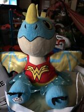 """Build A Bear Workshop 15"""" Dragon In BABW Wonder Woman Outfits AUTHENTIC"""
