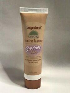Coppertone Sunless Tanning, Moisturizing Lotion, Gradual Tan 1.0 fl oz. (1 Tube)