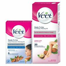 Veet Face and Body Waxing Kit for Normal Skin - 8 + 20 Strips