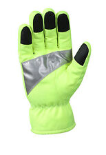 Rothco 5487 Safety Green Gloves With Reflective Tape