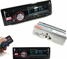 Autoradio FM.Stereo automobile.Legge USB,SD,MMC,MP3,AUX in.Frontalino led.50w x4