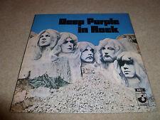 DEEP PURPLE-In Rock  VINYL LP UK HARVEST NO EMI BOX