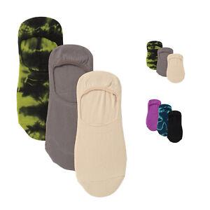 Hue Women's 3-Pk. Tie-Dyed Hidden Liner Socks