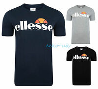 NEW MENS ELLESSE ARAMEO LOGO T SHIRTS TEE T-SHIRT SHORT SLEEVE BNWT S M L XL