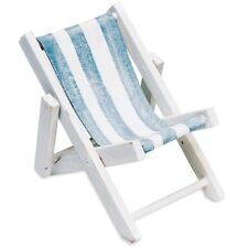 Traditional Style Mini Deck Chair Place Card Holder Party Favours Pack of 8