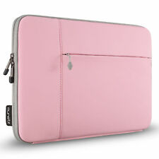 Runetz - Sleeve for MacBook 12 inch Laptop Air 11 Neoprene Cover Case PINK/GRAY