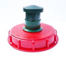 """Tanque de almacenamiento IBC topfill Cap (6"""" Rosca Gruesa) con ventilación de chimenea"""