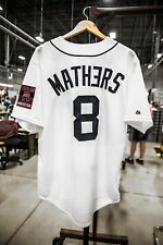 NEW Eminem Detroit Tigers Jersey 2014 MONSTER TOUR Medium M Majestic SOLD OUT!