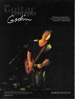 Godin Guitars - Martin Sexton - 2006 Print Advertisement