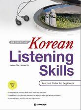 Korean Listening Skills: Practical Tasks for Beginners w/CD Hangul Study Book