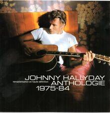 CD JOHNNY HALLYDAY   ANTHOLOGIE 1975 - 84
