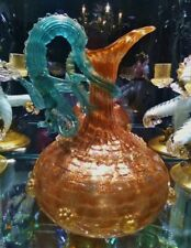 Antique Venetian Salviati Murano circa 1890 Mythological Dragon Ewer/Jug