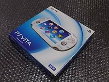 PlayStation PS Vita Wi-Fi Console Crystal White PCH-1000 ZA02 from Japan game