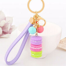 Cute Stylish Cake Keyring Keychain Alloy Key Chain Dector For Women Girls Gifts