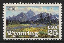 US Scott #2444, Single 1989 Wyoming 25c VF MNH