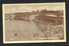 C1930's View of People on Botany Bay Beach, Kingsgate, Thanet.