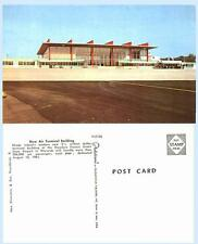 Airport Terminal Warwick Rhode Island 1960s Aircraft Postcard - Architecture