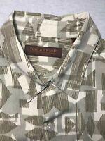 Tori Richard Mens Short Sleeve Button Down Silk Aloha Hawaiian Shirt Sz L
