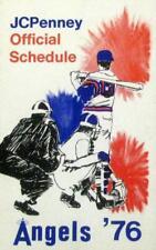 1976 California Angels Pocket Schedule (J.C. Penney) -  NEAR MINT