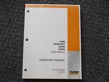 Case 580N 580SN 580 Super N 590SN 590 SN Loader Backhoe Owner Operator Manual