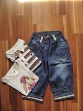 @ Girandola c&a @ bermudas vaqueros azul + Camiseta Polo Blanco Rosa + talla 128