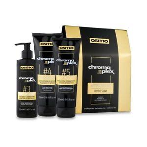 Osmo Chromaplex Aftercare Kit - Includes No3 Bond Sustainer, No4 Bond Shampoo an
