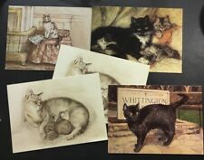 """Lot Of 5 Cat 7"""" Notecards The Museum And Galleries Collection 1999"""