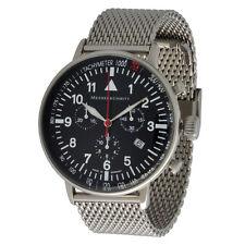 Messerschmitt Aviator Watch Quartz Chronograph ME-2477ft 3ATM Ronda 5030.D