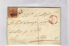 1860 Regno di Napoli - lettera con 1 grana isolato da Avellino a Salza