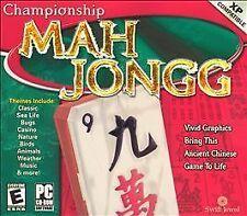 Championship Mah Jongg, Good Windows, Pc Video Games