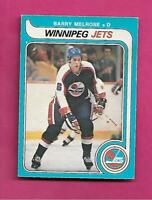 1979-80 OPC  # 386 JETS BARRY MELROSE  ROOKIE GOOD CARD (INV# C4334)