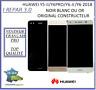 Ecran Lcd Original Huawei Y5-II/Y5-2017/Y6 PRO/Y6-II/Y6 Y7 Y9 2018 Noir Or Blanc