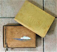 Blue Star Line T.S.S. Arandora Star Portrait Photo Album  Cruise 1934 Boxed