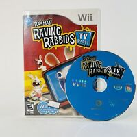 Nintendo Wii Video Game - Rayman Raving Rabbids: TV Party Complete