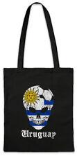 Uruguay Football Skull I Shopper Shopping Bag uruguayan Soccer Flag