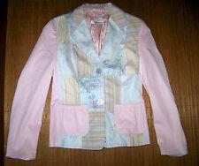Geblümte Damenjacken & -mäntel aus Baumwollmischung
