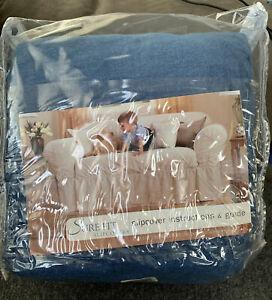 SureFit- Non-Slip Sofa Furniture Cover, Blue
