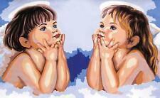 grafitec imprimé tapisserie / toile de à l'aiguille – Daydreaming ANGELOTS