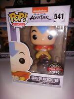 Avatar The Last Airbender Aang on Airscooter Exclusive Funko POP!