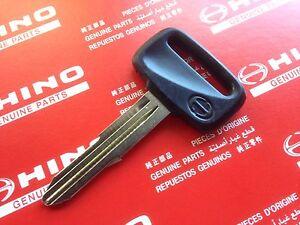 NEW Genuine Hino blank Key 1998-2003