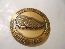Detroit Red Wings 2003 Highland Mint Solid Bronze Series Magnum Coin COA /1000
