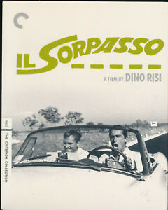 EBOND Il Sorpasso The Criterion Collection UK Edition BLU-RAY + DVD D313015