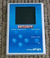 Pocket Pogo Battleship Hand Held Electronic video board Game vintage 2009