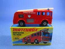 MATCHBOX SUPERFAST 35 MERRYWEATHER FIRE ENGINE, MIB!