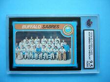 1979/80 O-PEE-CHEE NHL HOCKEY CARD #248 BUFFALO SABRES CHECKLIST KSA 9.5 NGM OPC