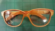 Thibaut de Monts All Wood Eyeglass Frame~Vintage 1980's Handmade Extremely RARE!