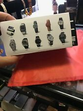 warranty card and paper Original Tissot watch box withe