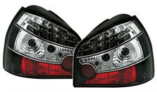 LED taillights TAIL REAR LIGHTS set in Black clear finish for Audi A3 8L 96-03