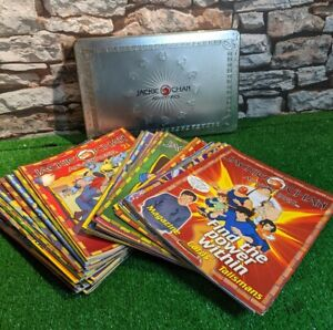 Jackie Chan Adventures Magazines 1-47 & 350 Cards & Talisman, Medals x 18